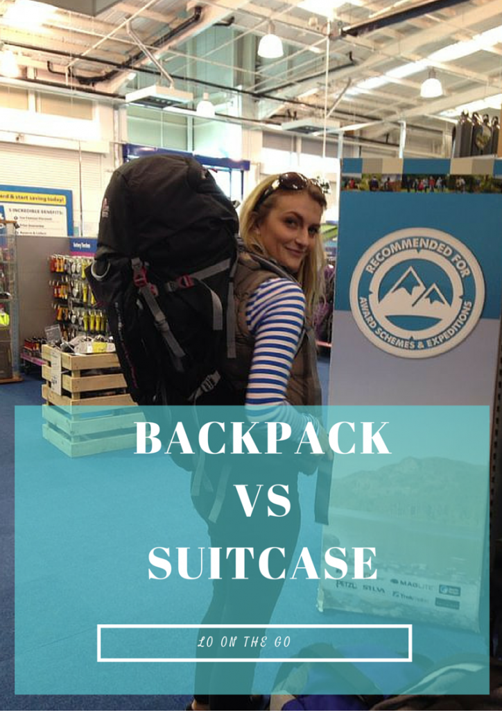 Backpack Vs Suitcase – Travellers Debate