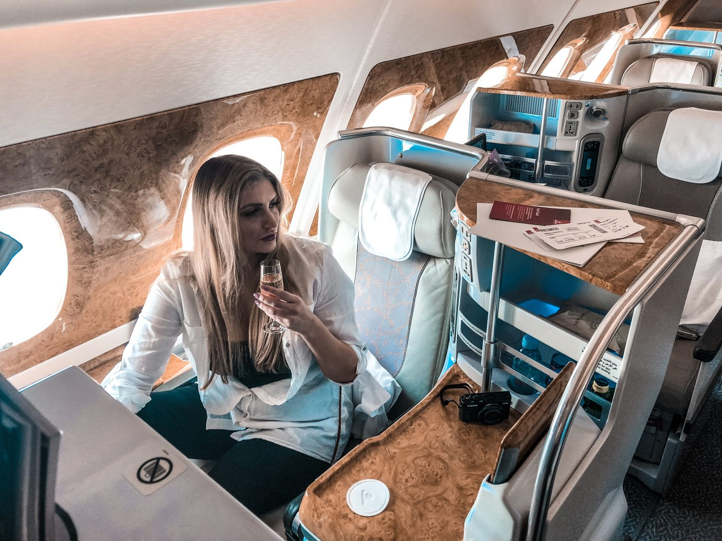 Emirates Business Class Review | A380